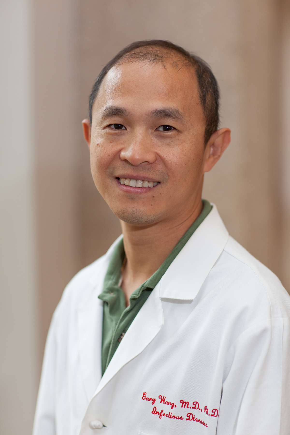 Gary P  Wang, MD, PhD » Division of Infectious Diseases