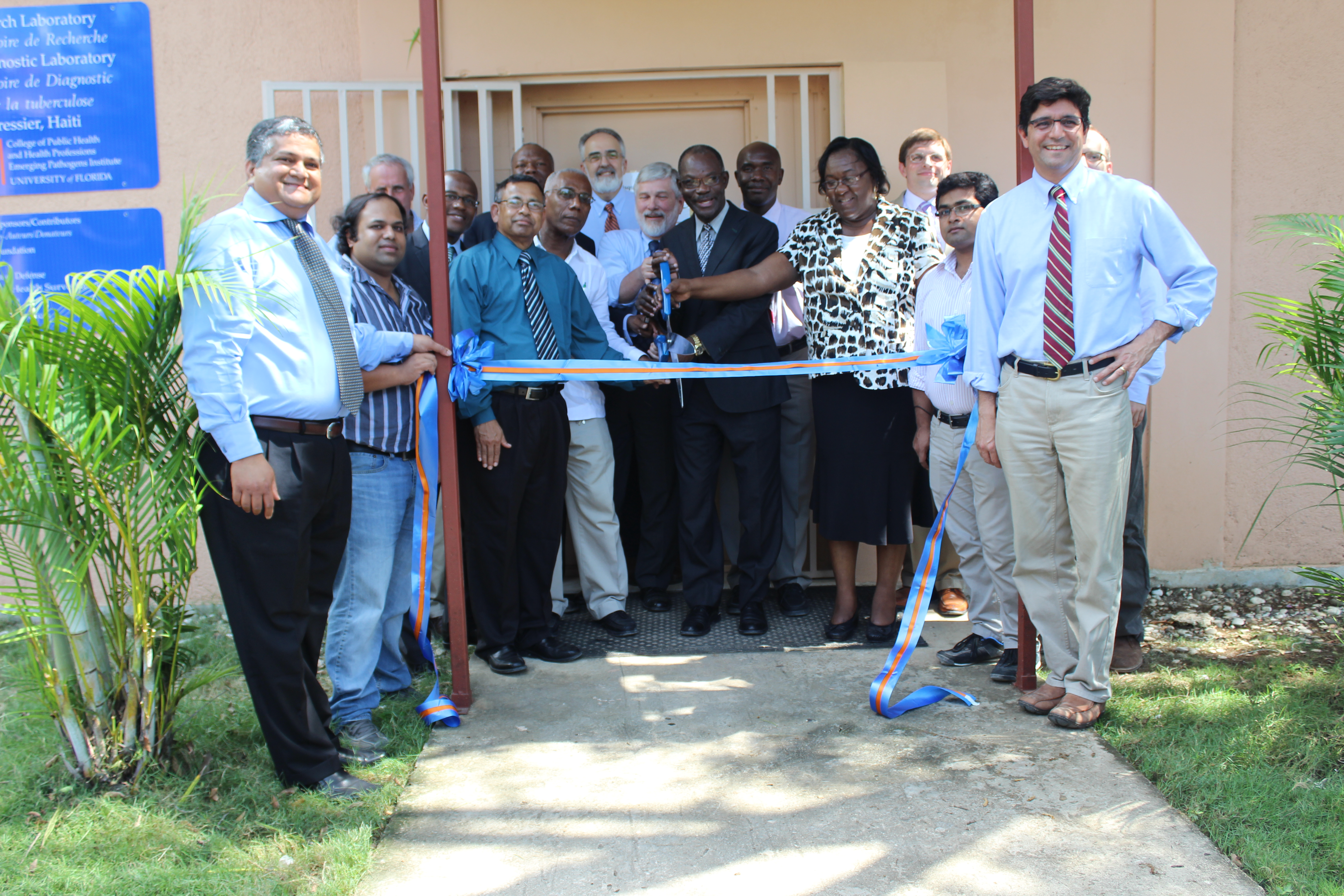 Haiti Biosafety Lab Grand Opening  U00bb Division Of Infectious