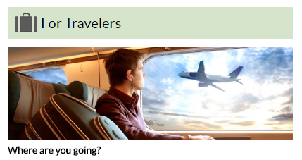 For Travelers