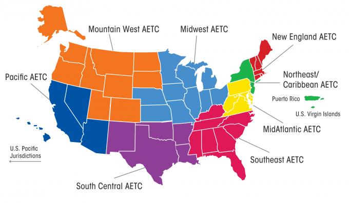 AETC map